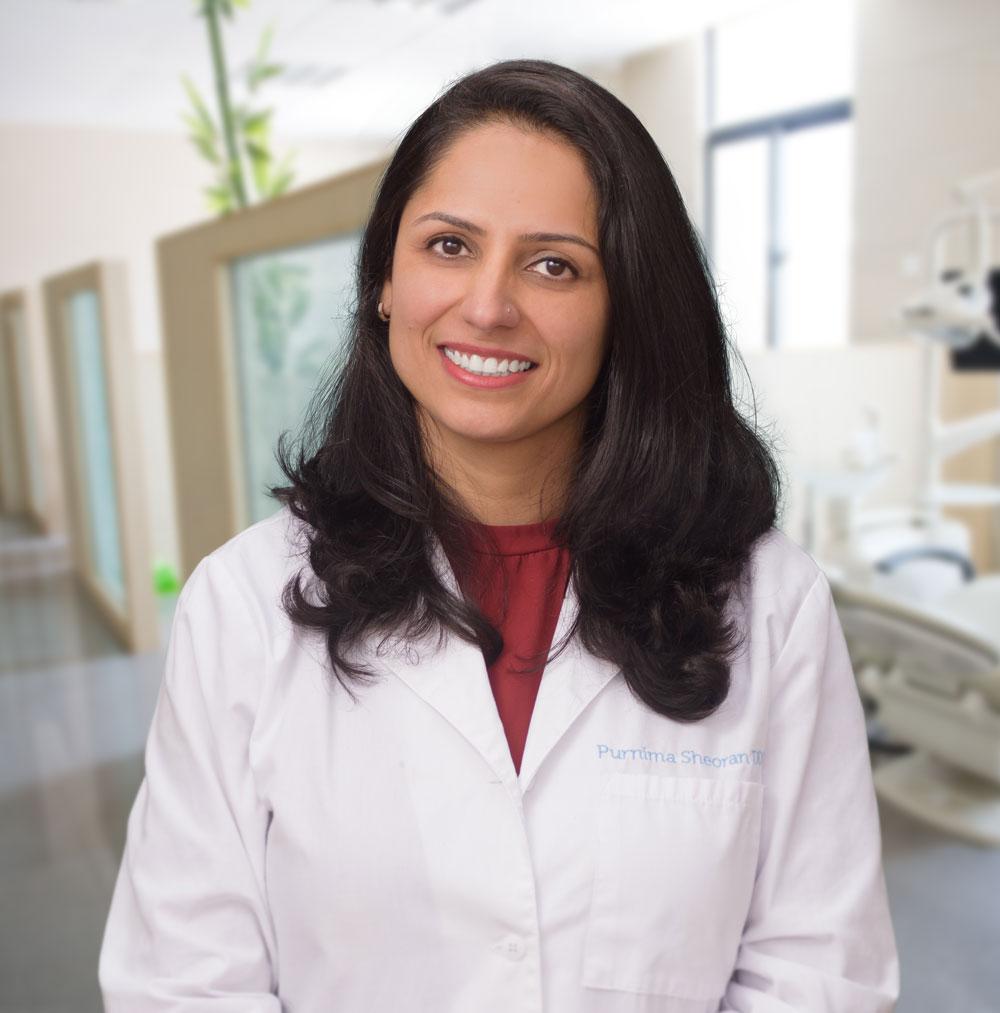 dr purnima sheoran - dentist in santa maria